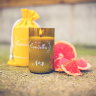 Candella - No 4 # Grapefruit Candle